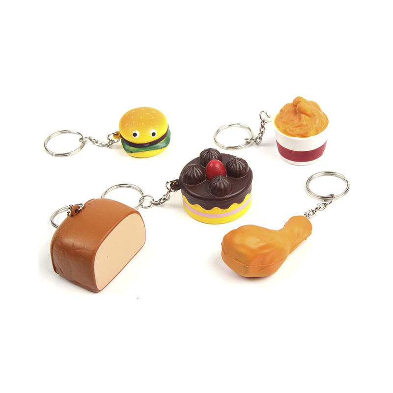 PU-Anti-Stress-Toy-with-Keychain-Slow-rising