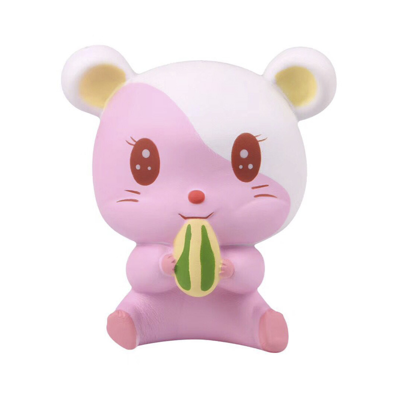 Hamster-Shape-Slowing-Rising-Squishy-Toy-Stress