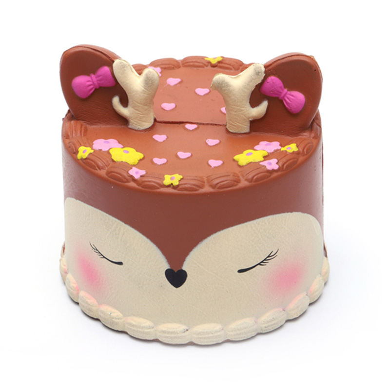Custom-color-size-birthday-cake-pu-slow-deer
