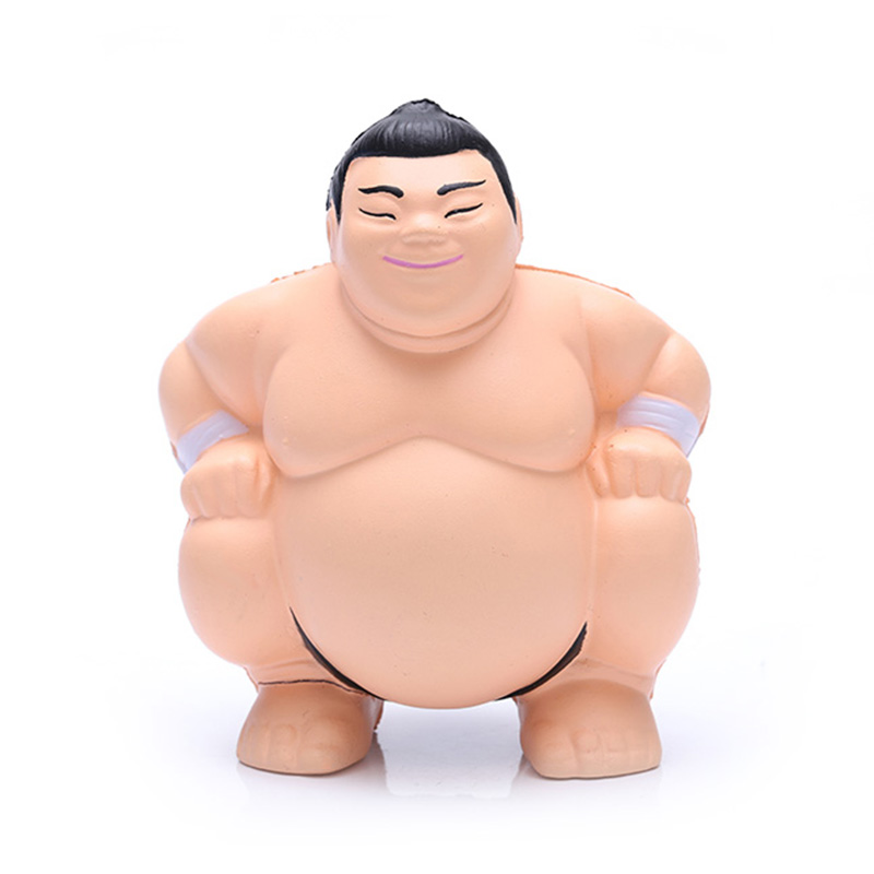 Custom-design-sumo-wrestler-PU-foam-anti