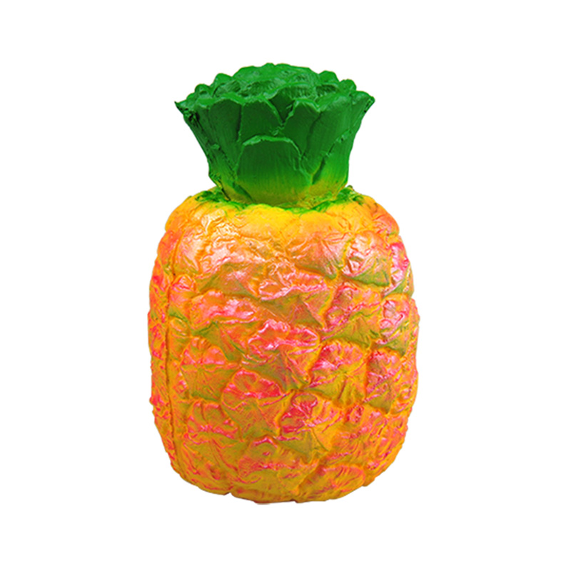 Custom-soft-scented-slow-rising-toys-ball pineapple